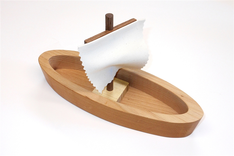 Wooden Sailboat for Sunday School Lesson