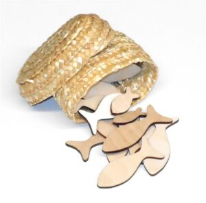 Wooden Fish for Sunday School Lesson