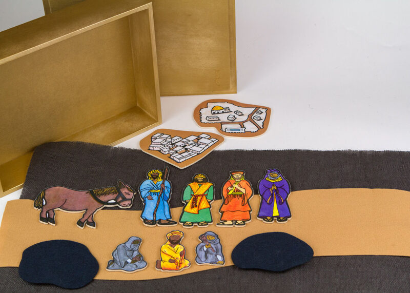 Wooden Parable of The Good Shepherd Sunday School Lesson