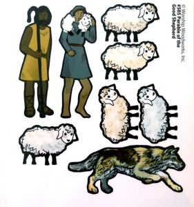Parable of the Good Shepherd (Color Print Only)
