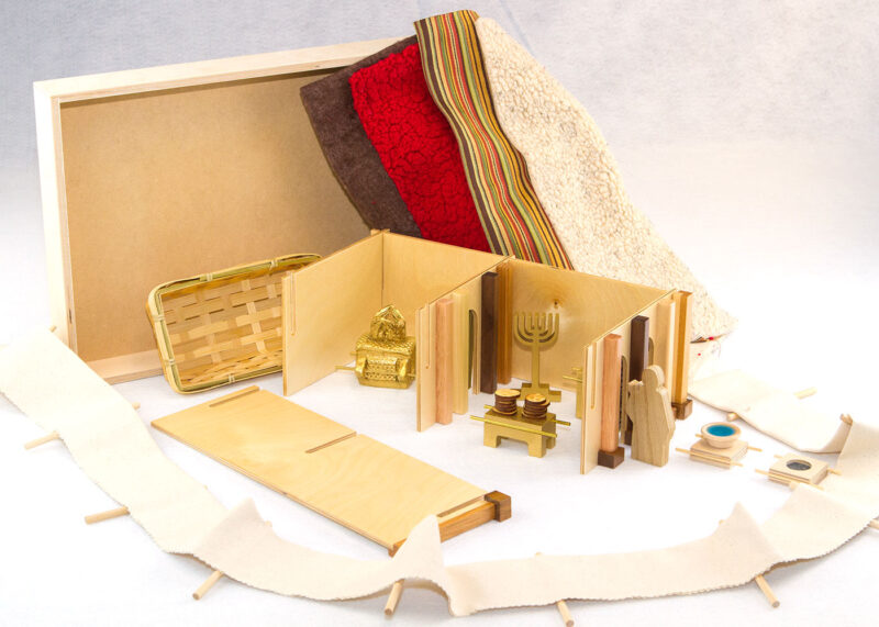 Wooden An Ark & Tent for God Sunday School Lesson
