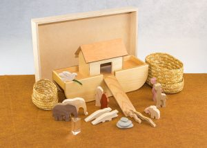 Wooden Noah's Ark Sunday School Lesson