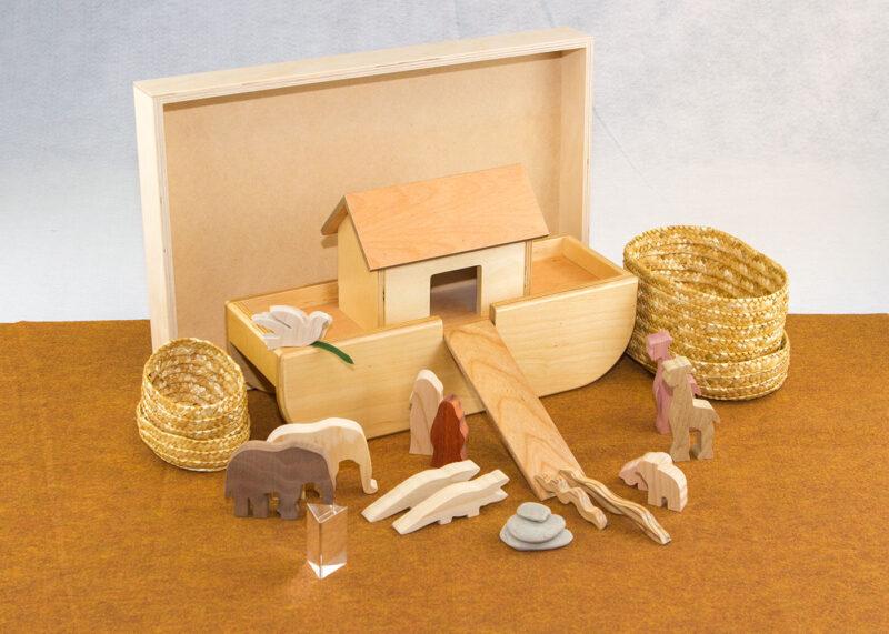 Wooden Noah's Ark Sunday School Lesson
