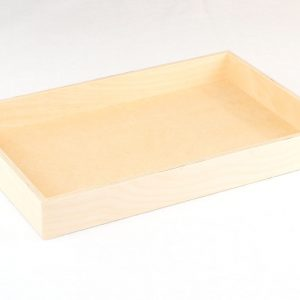 Wooden Tray for Noah's Ark Sunday School Lesson