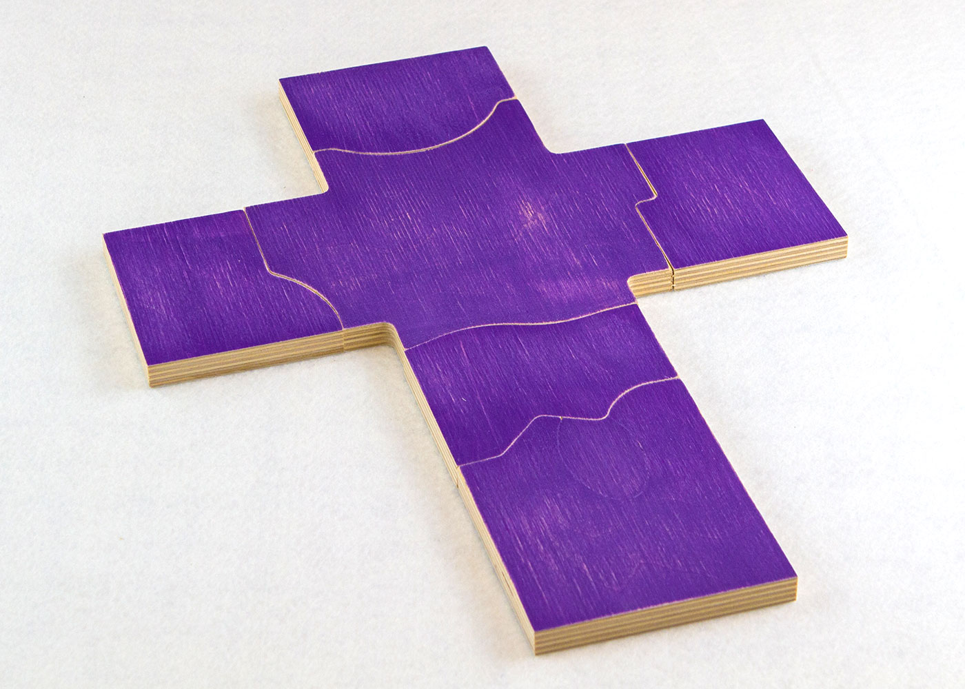 Wooden Lenten Puzzle for Sunday School Lesson