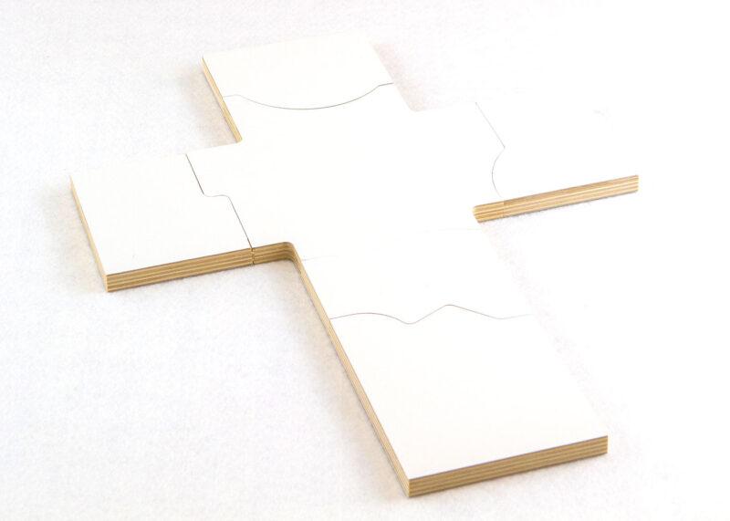 Wooden Lenten Puzzle for Sunday School Lesson