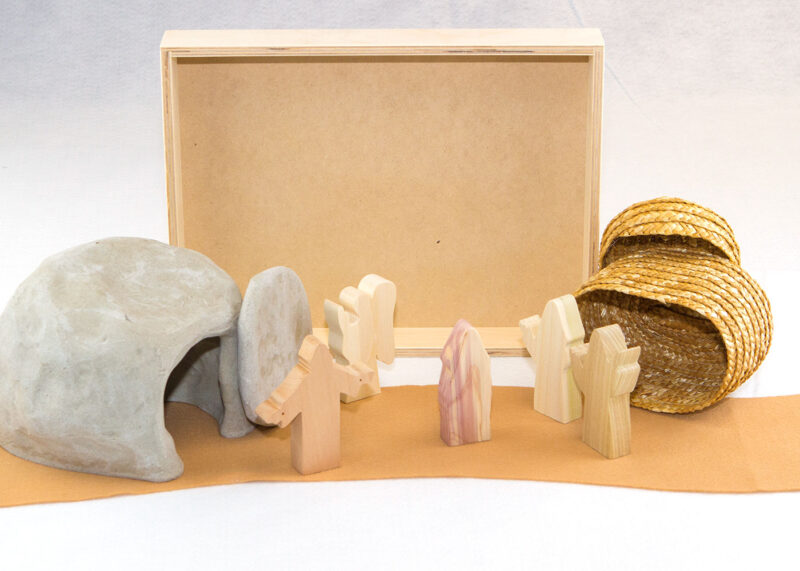 Wooden Appearance to Mary Magdalene Sunday School Lesson