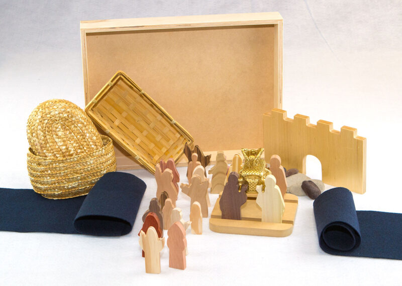 Wooden The Promised Land Sunday School Lesson