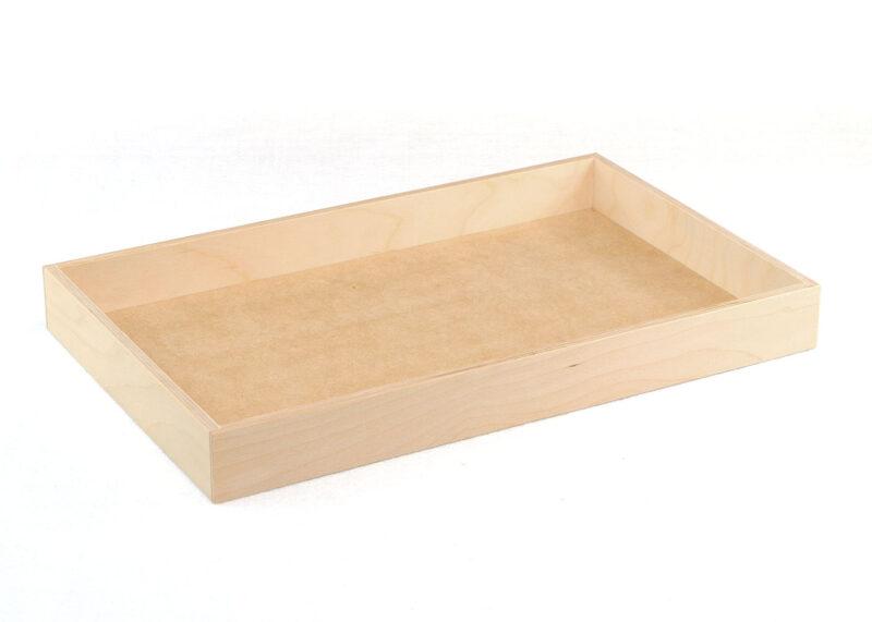 """17"""" Wood Tray"""