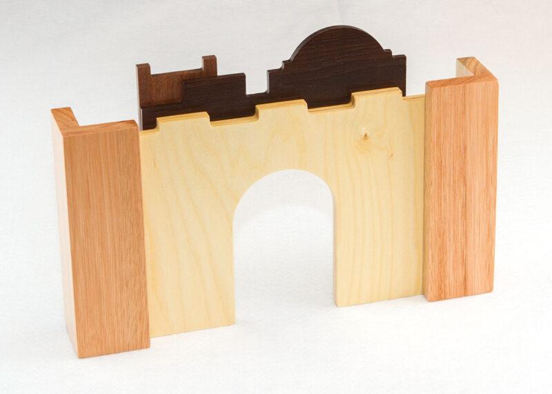 Wooden Jerusalem Sunday School Lesson