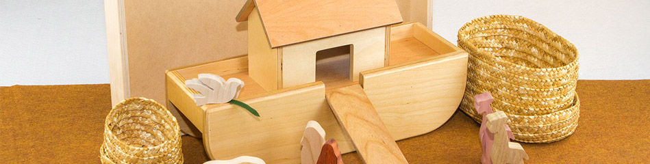 Worship Woodworks - Noah's Ark Complete Package