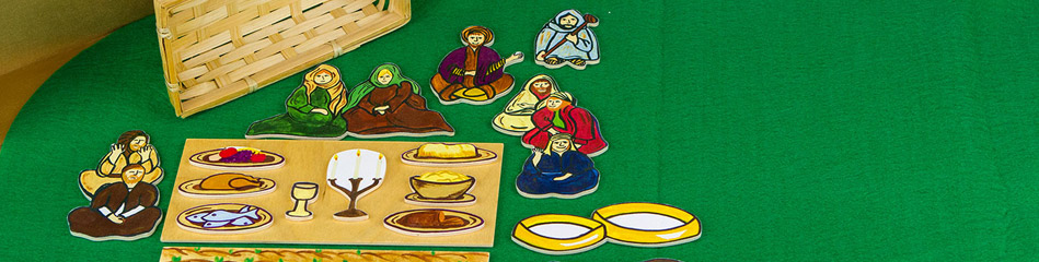 Worship Woodworks - Parable of The Great Banquet Set