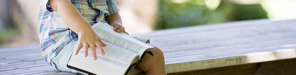 Teaching Bible Lessons To Kids Outdoors