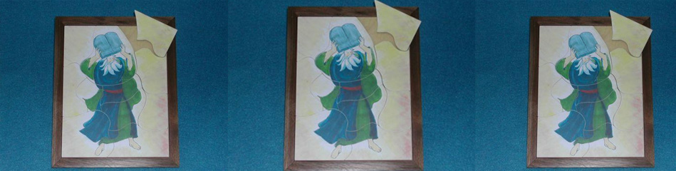 Worship Woodworks - Moses Holding the 10 Commandments Puzzle