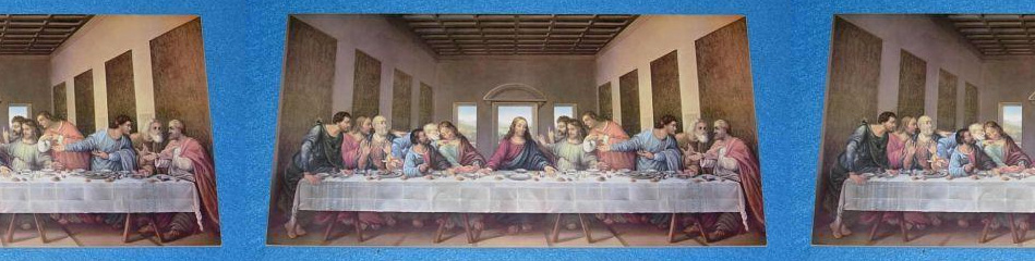 """Worship Woodworks - Davinci's """"The Last Supper"""" on Wood"""